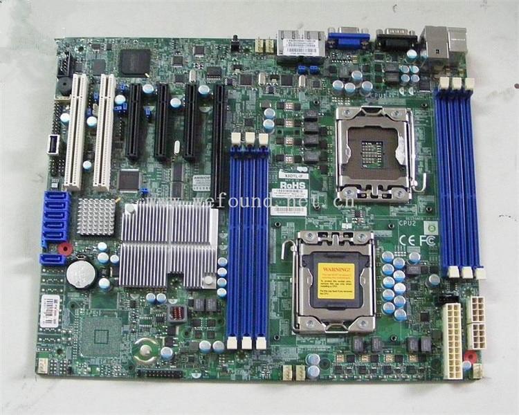 Placa base del servidor de trabajo 100% para X8DTL-IF 1366X5650 totalmente probado INTEL XONE L5640 CPU INTEL L5640 procesador seis core 2,26 MHZ LeveL2 12M para lga 1366 montherboard