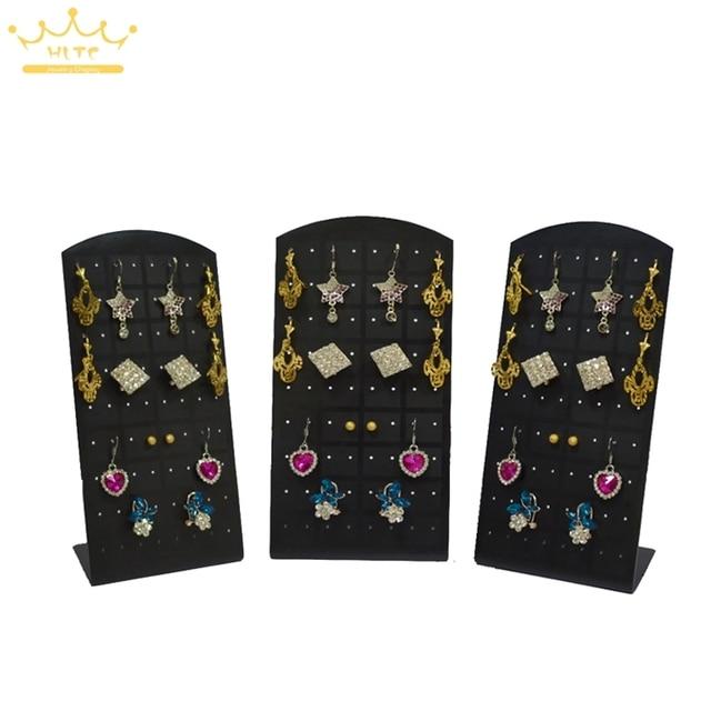 Free Shipping 5Pcslot 36 Pair Acrylic Jewelry Holder Organizer