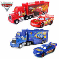 Disney Pixar Car 3 Toy Lightning McQueen Jackson Uncle Mike 1:55 Die Casting Model Car 2 Toy Child Birthday Christmas Gift
