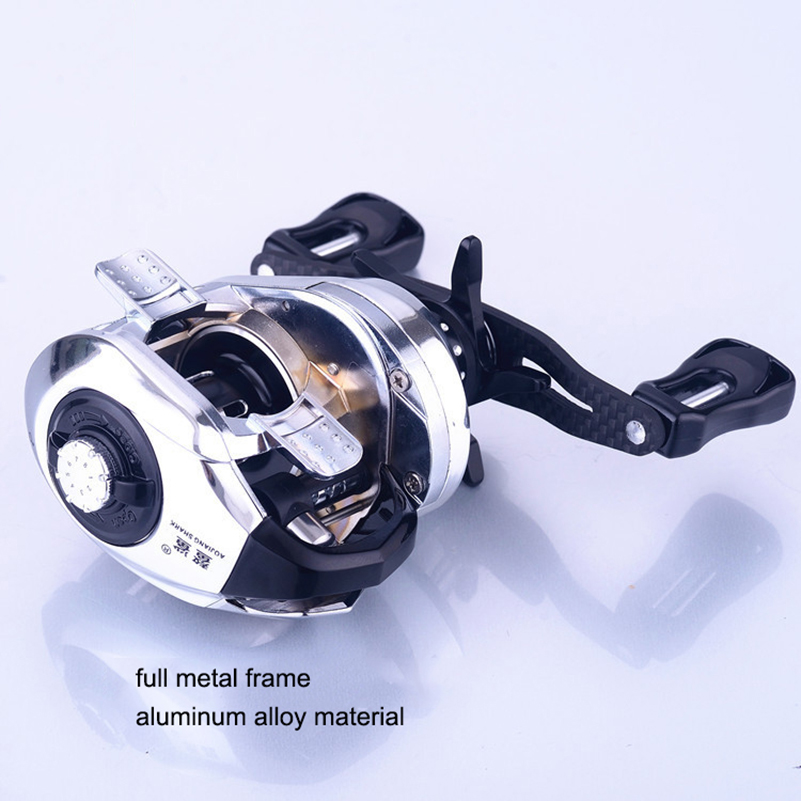 YUYU full metal Baitcasting Fishing Reel 3000 metal spool Drag 6 kg speed 7 2 1