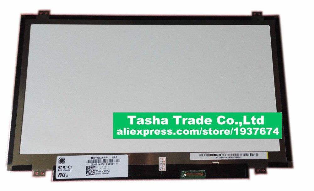14.0 écran lcd d'ordinateur portable BOE HB140WX1-501 HB140WX1 panneau de LED pour nouveau 14