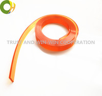Free Shipping 25mm 5mm 4000mm Screen Printing Flat Squeegee Rubber Blade 85A Durometer