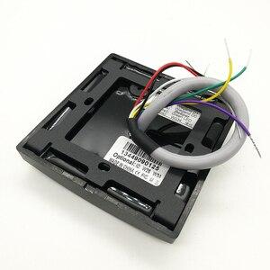 Image 3 - KR602 Waterproof Card Slave Reader Wiegand 26 Card & Password Reader for Door Access Control System keypad Rfid Reader KR602E