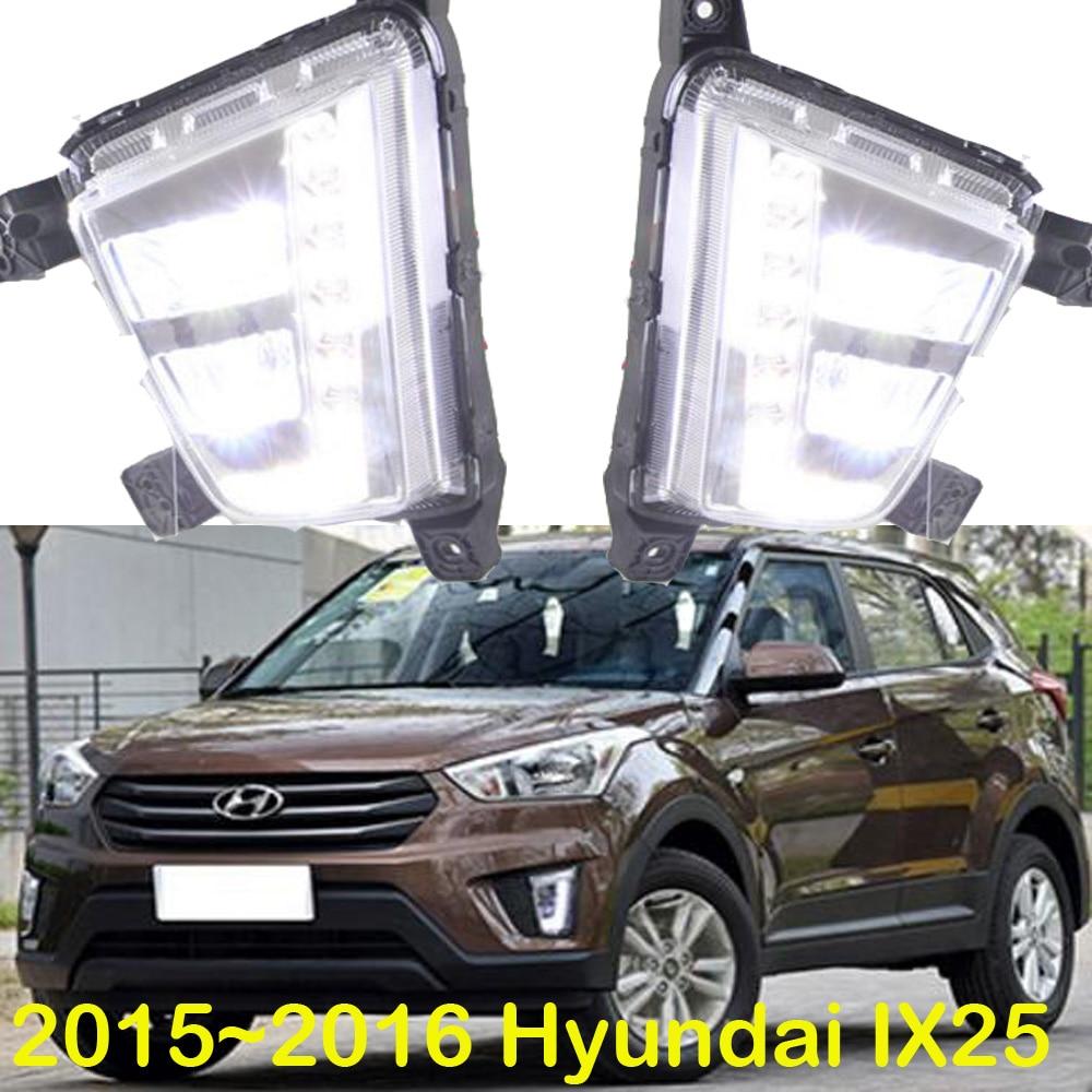 LED 2015 2016 Hyundal Creta IX25 daytime Light IX25 fog light IX25 headlight accent Elantra Genesis