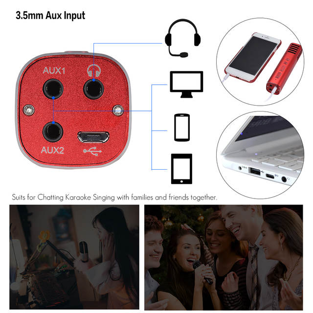 US $23 7  Mic 4 Sound Effects Professional Electret Condenser Microphone  Noise Reduction for Smartphone Broadcasting Recording Singing-in  Microphones