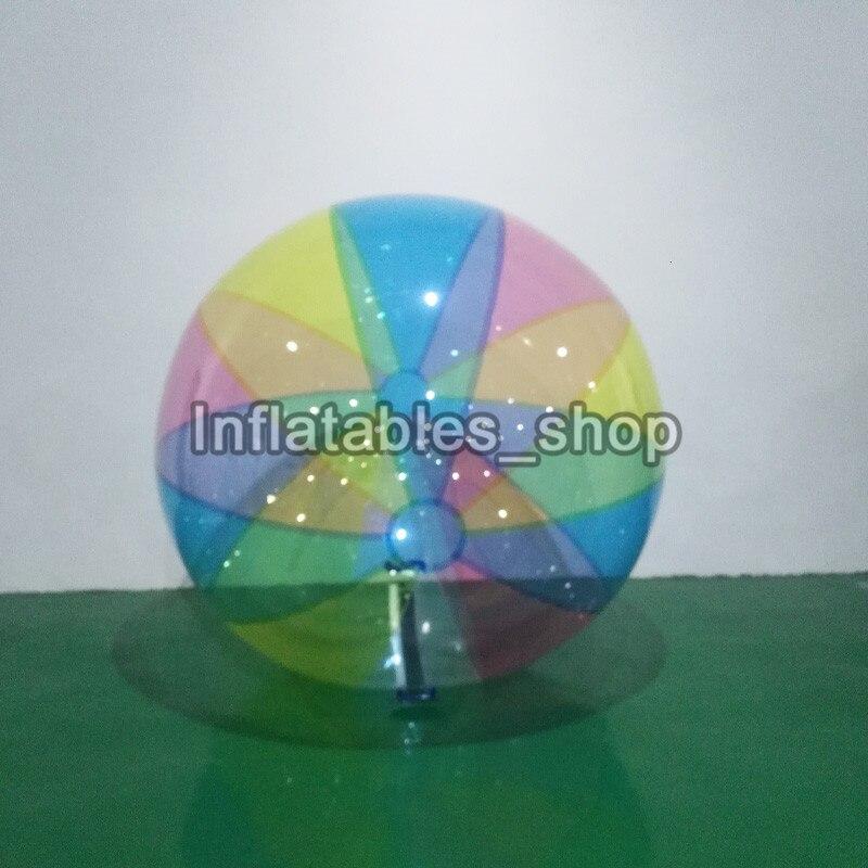 Livraison gratuite 0.8mm TPU 1.8 m gonflable eau Zorb boule d'eau piscine balle gonflable eau boule de marche mur