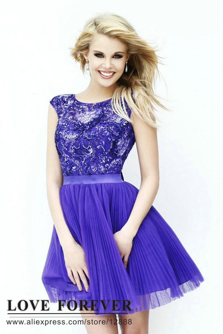 Purple Party Dresses For Juniors | Good Dresses