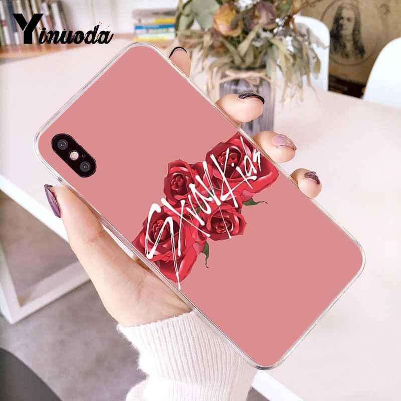 Yinuoda Stray Kids Customer высококачественный чехол для телефона iPhone 8 7 6 6S Plus X XS MAX 5 5S SE XR 10 чехол Capa