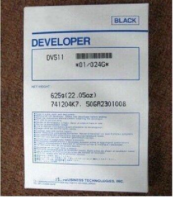 1Pcs DV511 Compatible Developer For Minolta BH420 421 500 501 7145 Copier Parts 1pcs compatible developer for minolta 7020 7022 7030 7130 7025 copier parts