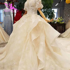 Image 3 - AIJINGYU Beautiful Wedding Gowns Online Crystal Pictures Amazing Shops Luxury Newest Gown female Made In Turkey