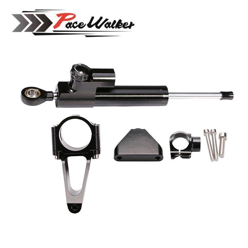 Motorcycle Steering Damper Stabilize Bracket support For Honda CBR 600 F4I 2001 2007 CNC Stabilizer Linear