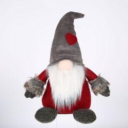 Dekoracje świąteczne szwedzki Santa Gnome pluszowe ręcznie skandynawskie karłowate ozdoby świąteczne dla domu w Wiszące ozdoby od Dom i ogród na