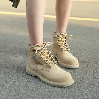 Women Winter Boots Classic Leather Ankle Boots Female Autumn Winter Boots High Quality Fashion Botas Mujer Lace-Up Flat Boots prowow new high quality genuine leather lace up women winter boots sexy platform boots chunky heel boots botas mujer