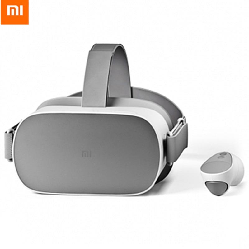 Xiaomi Mi VR Autonome Tout En Un VR Lunettes Soutenir Oculus 72 hz D'affichage 2 k HD Écran Avec Télécommande contrôleur 3D VR Casque