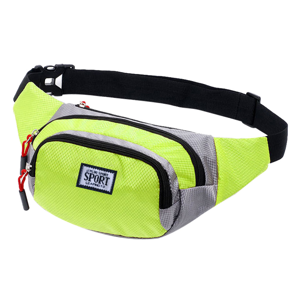 Oxford Outdoor Sports Waist Bag For Women And Mens Letter Waterproof Functional High Capacity  Money Messenger Chest Hip Pack #S