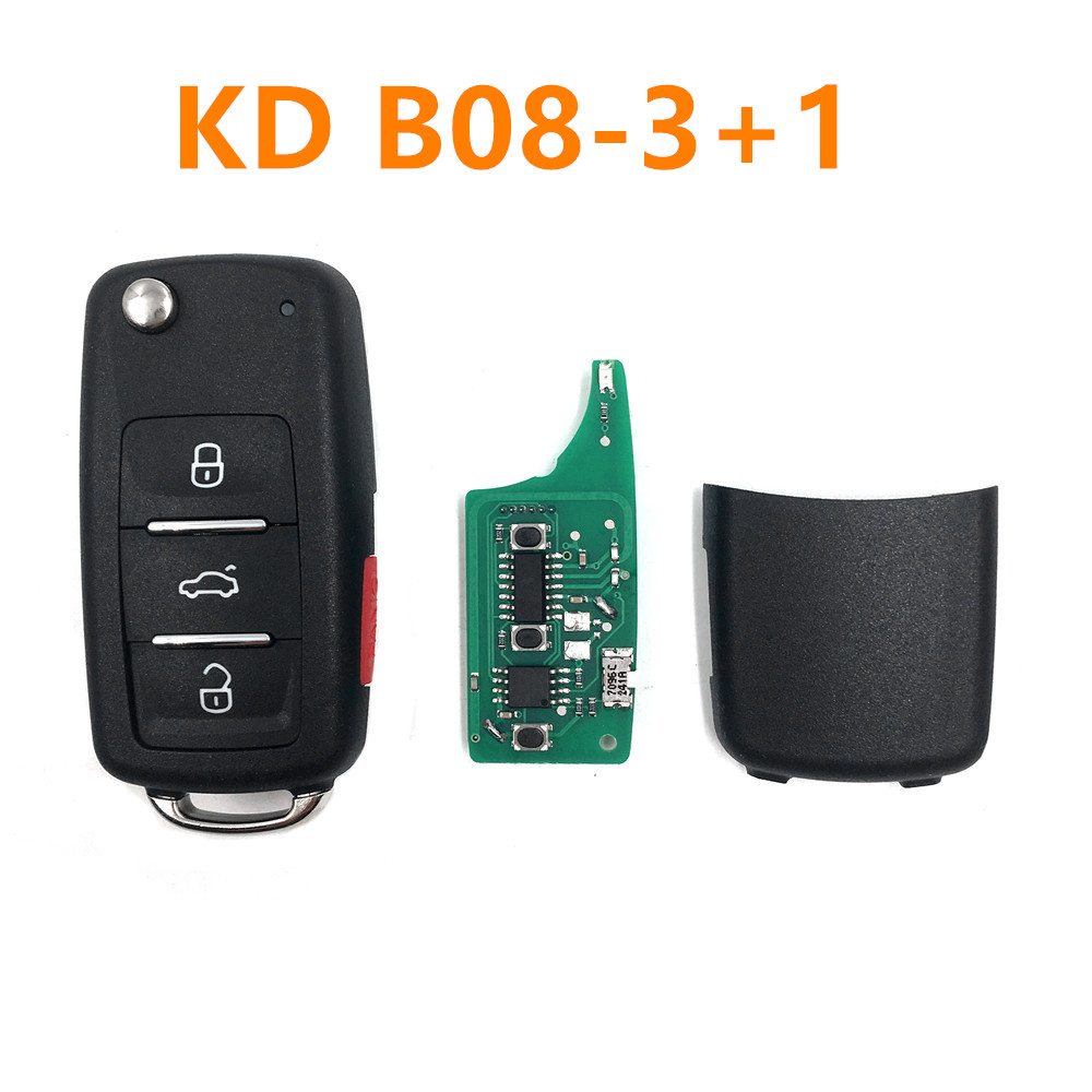 universal 4 button remote key for keydiy B08 3 1 for KD300 and KD900 to produce