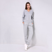 women sweater suit sets casual knitted sweaters pants 2pcs track suits woman casual knitted trousers+jumper tops clothing set