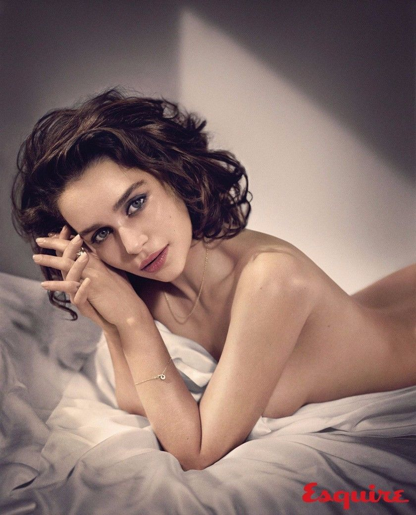 N1321 Emilia Clarke Actress Star Wall Sticker Silk Fabric Poster Art Indoor Decor Bright image