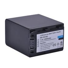 1 шт. 4500 мАч NP-FH100 NP FH100 FH100 Батарея для sony DCR-SX40 SX40R SX41 HDR-CX105 FH90 FH70 FH60 FH40 FH30 FP50 SR42E SR45E