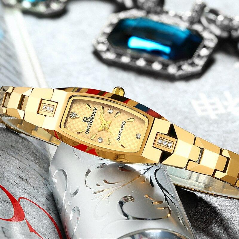 Ultra-thin waterproof ladies watch women tungsten steel watches couple student bracelets quartz wristwatch luxury brand Relogios