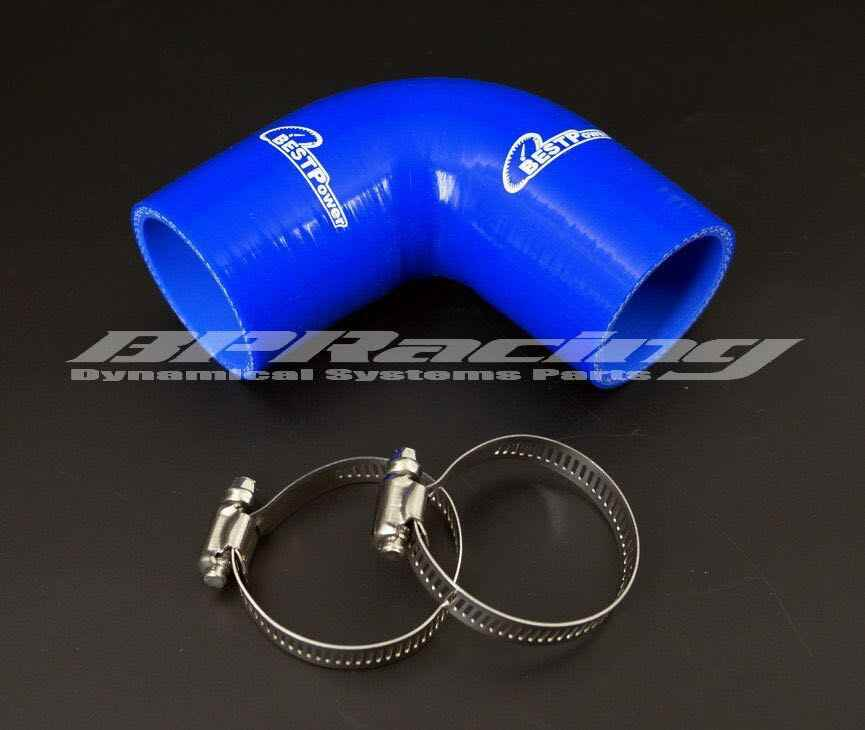 16mm/19mm/25mm/90 Gradi Gomito Gomma di Silicone Joiner Bend/0.63 pollici/0.75 pollici/0.98 pollici silicone intercooler del liquido di raffreddamento tubo/morsetto