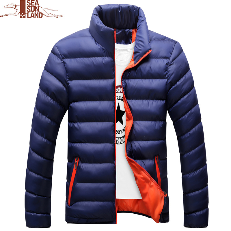 Mens cotton padded Coats Winter Jackets Male Warm Parka Men Bomber Jacket Casual Thick Outwear Coats Masculino 9 Color Plus Size parka mens winter jacket long sleeve warm men coats cotton slim hooded outwear coat casual male padded jackets clothing