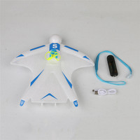 Skywalker Crazy Flyer 263mm Wingspan Electric Capacitor Hand Throwing Free flying 2.4GHz EPP Mini RC Airplane RTF RC Toys Boys