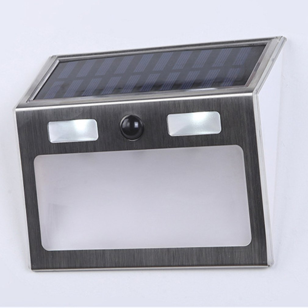 Polysilicon house number lamp Solar Power LED Light Sign House Hotel Door Address Plaque Number Digits Plate 4