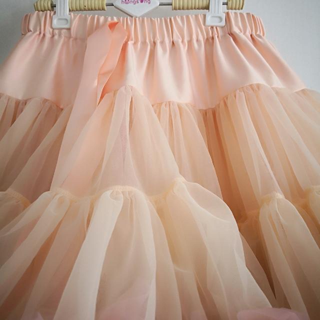 Women Tutu Skirt Ballet Pettiskirt 3 Layer Fluffy Full Size Children Ballet Skirts For Party Dance Princess Girl Tulle Miniskirt