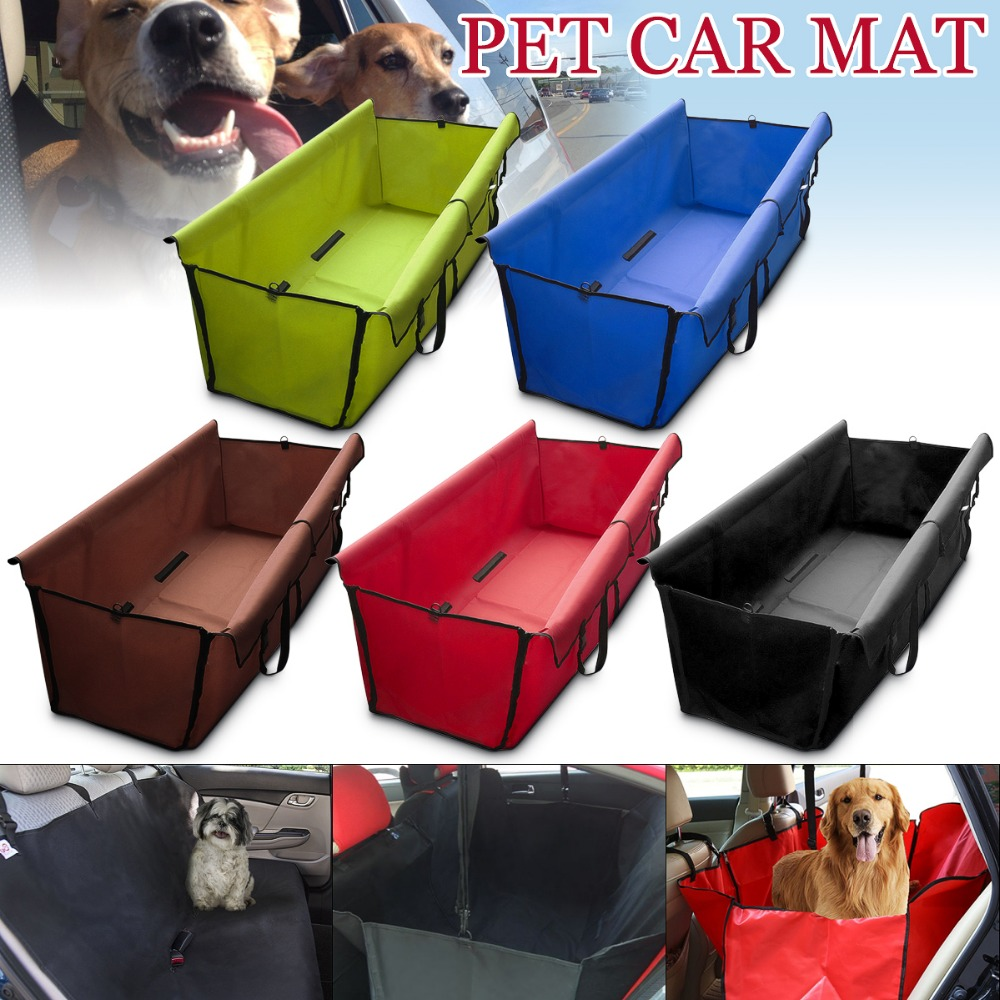 Pet Car Mat Car Seat Cover Safety Pet Waterproof Hammock Blanket Mat Travel Dog Cat Seat Covers Automobiles Seat Covers partol oxford cloth pet dog car seat covers waterproof back bench seat travel accessories auto seat cover mat 2 in 1 carrier bag