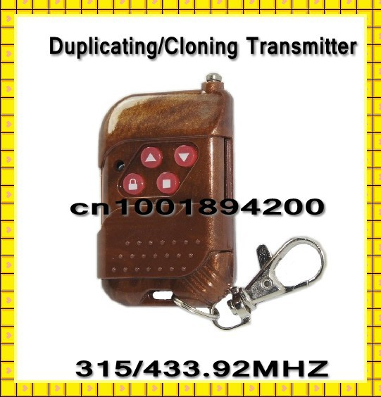 Duplicator Remote Controller Duplicating/Cloning Transmitter Clone Remote Control 315MHZ/433.92MHZ Free Shipping