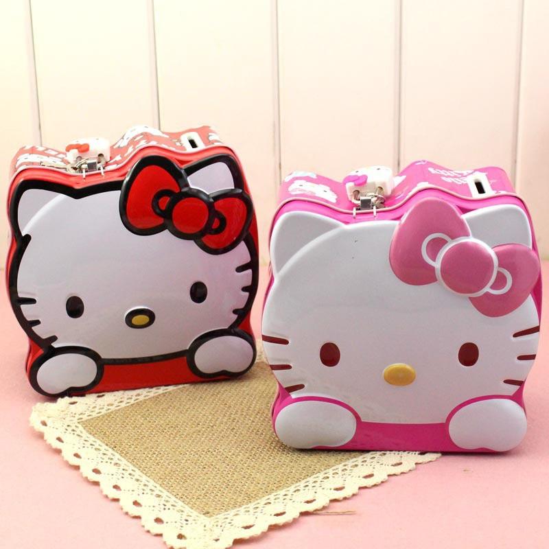 Lovely Hello Kitty Spaarpot Munt Spaarpot Spaarpotten Spaarpot met - Home opslag en organisatie