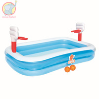 Inflatable basketball entertainment Children's play Family Pool Float party water toys Air Mattress floating bath for child kids