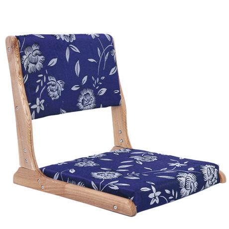 Living Room Chair Living Room Furniture Folding chair legless chair platform tatami folding chair solid wood Japanese style sale