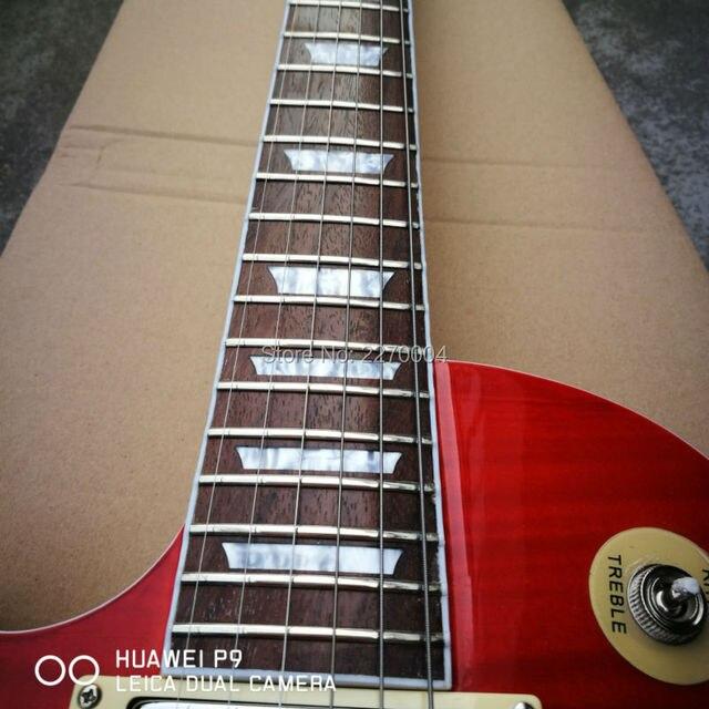 1959 custom left-hand LP electric guitar, great guitar, guitar's original image, free shipping 3