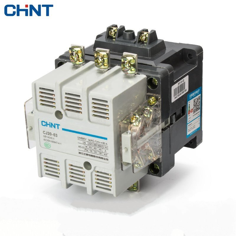 цена на CHINT Communication Contactor CJ20-63A 380v 220v 110v 36v Household Two Normally Open Two Often Close