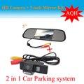 """5 """" monitor + CCD Car câmara de visão traseira para NISSAN QASHQAI X-TRAIL Geniss ensolarado Pathfinder 2005 - 2011 Dualis Navara Juke câmera do carro"""