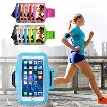 Спорт на открытом воздухе Универсальный нарукавный чехол для iphone Redmi Note 7 Тренажерный зал Бег сумка телефон сумка-повязка на руку чехол P30 Honor 10i на руку