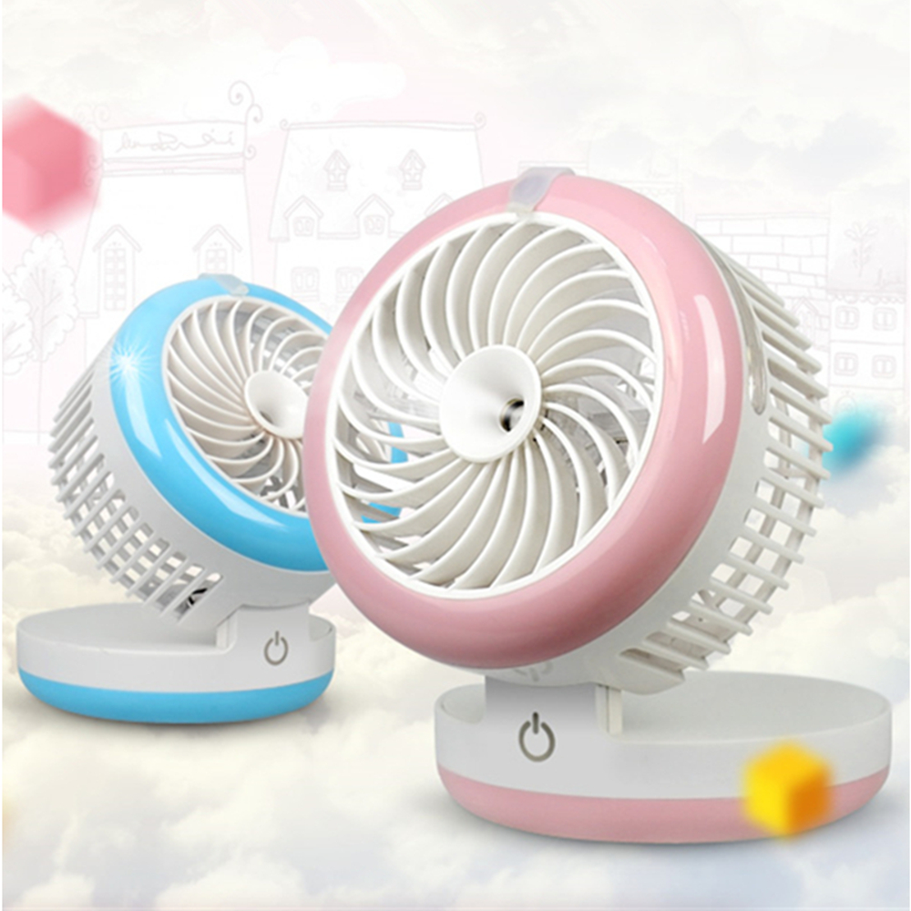 Rechargeable Fan USB Portable Desk Mini Fan for Office USB electric air conditioner small fan Angle Adjustment 1200mA handheld cartoon mini fan usb portable fan for home outdoor desk rechargeable air conditioner with 1200ma rechargeable battery