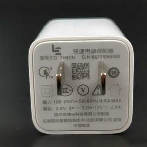 Image 3 - Original LETV Schnelle Ladegerät LEECO LE s3 x626 Pro 3 Smartphone QC 3,0 Quick Charge power adapter & Usb 3.1 Typ C Daten Kabel