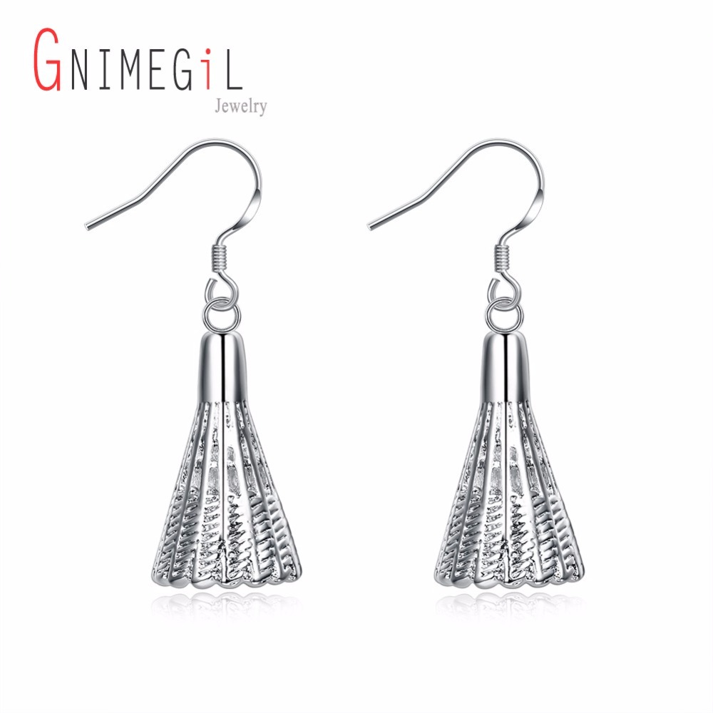 GNIMEGIL Wholesale Women Fashion Badminton Shaped Sport Drop Dangle Earrings for Ladies Girls Gifts Drop Shopping Jewelry