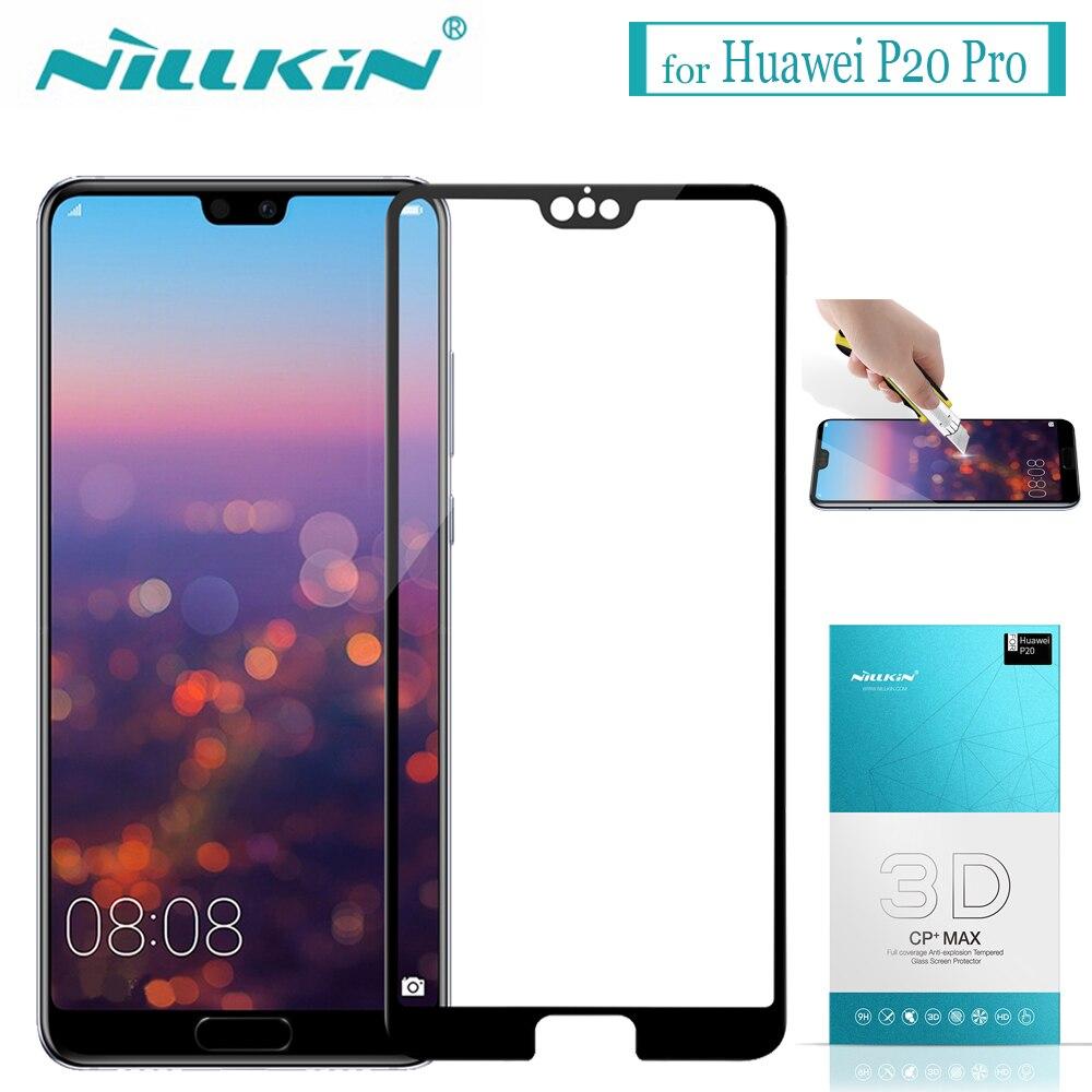 08ca497033d Cheap Nillkin Huawei P20 Pro Protector de pantalla de vidrio templado  Nillkin 3D CP + MAX