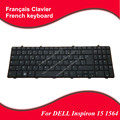 5pc/lot FR French keyboard For DELL Inspiron 15 1564 laptop keyboard NSK-DR0SQ 0R 9Z.N4BSQ.00R 0K54RF V110546AS CN-0K54RF black