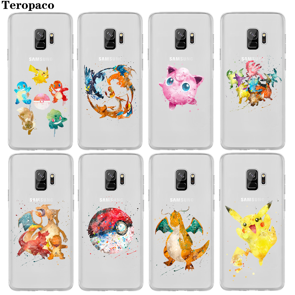 pikachus-jigglypuff-font-b-pokemons-b-font-go-watercolor-art-clear-soft-silicon-tpu-case-cover-for-samsung-s6-s7-edge-s8-s9-plus-note8