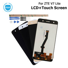 For ZTE Blade V7 Lite / Blade v6 plus LCD Display+Touch Screen Assembly Repair Parts 5 Inch Mobile Accessories+Tools +Adhesive