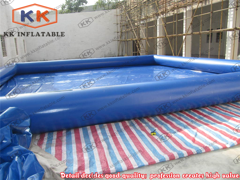 Deep Blue Inflatable Pool Playground Inflatable Swimming Pool Equipment For Children and Adults