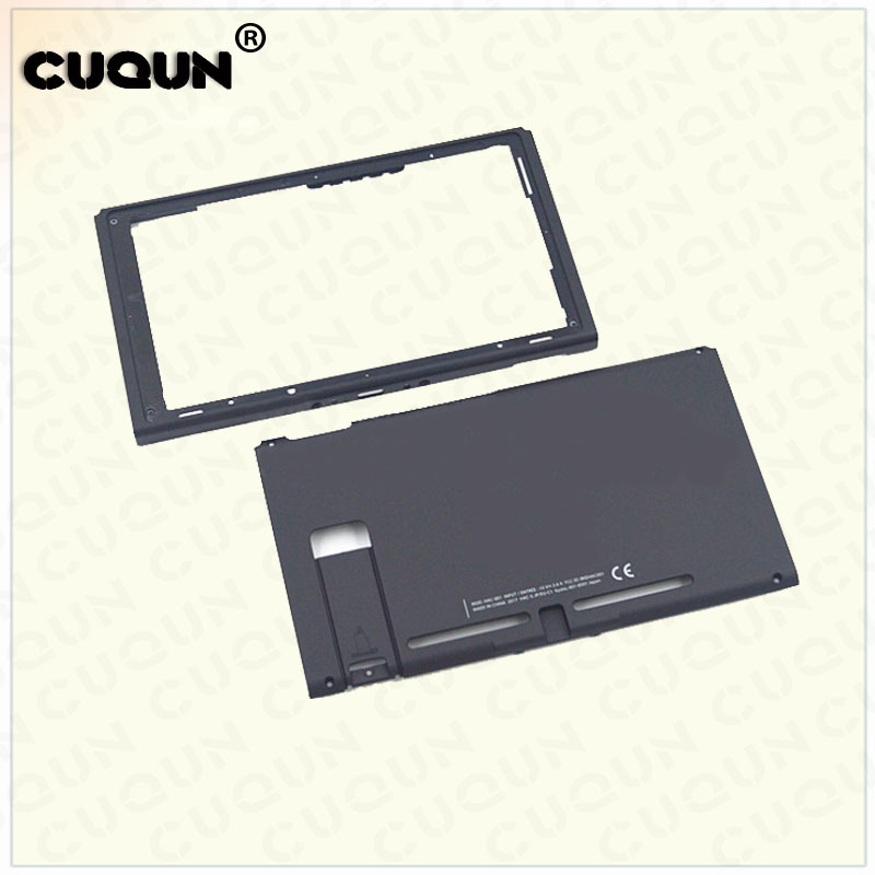 Original Black Hard Housing Shell Case Cover Part for Nintend Switch NS NX Console Front Back Faceplate