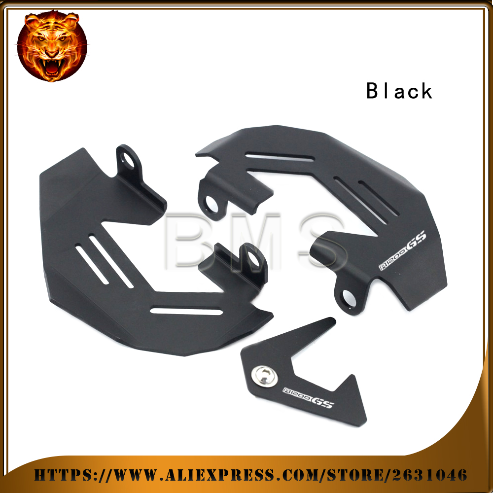 Front Left & Right Brake Caliper Cover Guard Motorcycle For BMW R1200GS LC/Adv 2013-2016 free shipping WITH LOGO
