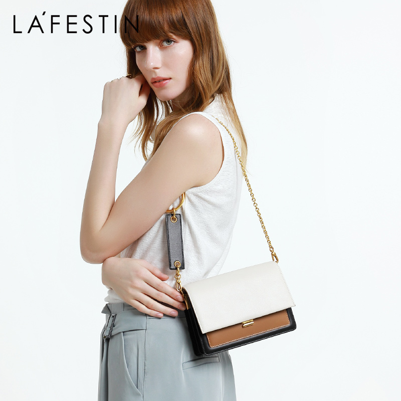 LA FESTIN Brand women s bag 2019 new chain versatile small square bag fashion shoulder bags