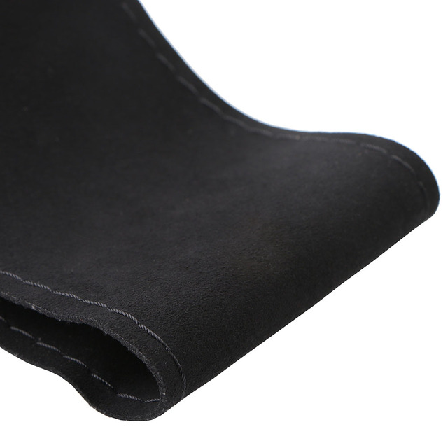 Unique New Suede Material Car Steering Wheel Cover Size 36cm/38cm/40cm For VW Skoda Chevrolet Ford Nissan etc.